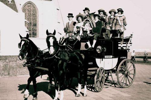 1971 herauten op postkoets